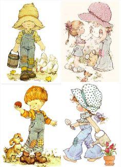 Sarah Key, Decoupage Vintage, Vintage Art, Doodle Drawings, Cute Drawings, Vintage Pictures, Cute Pictures, Colouring Pages, Coloring