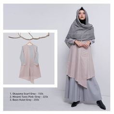 "ZAHA INDONESIA di Instagram ""Add a touch of feminine elegance today! Get yours this look available on ZAHACLOTHING.COM ㅤㅤ #ZAHA #MinamiTunic #ZahaTunic #BasicKulot…"" Casual Hijab Outfit, Abaya Fashion, Fashion Beauty, Womens Fashion, Muslim Women, Indian Designer Wear, Feminine, Tunic, Elegant"