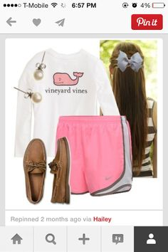 Vineyard vines Pearls  Bow  Sperry's Norts