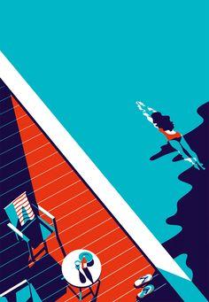 """Malika Favre é uma artista (designer/ilustradora) francesa que atualmente mora em Londres. Os clientes de Malika incluem The New Yorker, Vogue, BAFTA, Sephora e Penguin Books, entre muitos outros. Ela é reconhecida por seu estilo minimalista ousado – muitas vezes descrito como """"Pop Art se encontra com o Op Art"""" – é algo único e inconfundível, tanto que […]"""
