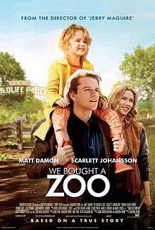 """We Bought a Zoo"" (Matt Damon, Scarlett Johansson, Thomas Haden Church, Colin Ford, Elle Fanning & Maggie Elizabeth Jones. Directed by Cameron Crowe) See Movie, Movie List, Movie Tv, Movie Theater, Matt Damon, Colin Ford, Bon Film, Films Cinema, Disney Films"