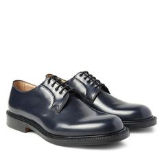 Thick-soled derbies