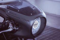 Diesel Cafe Racer - HSP69 Ducati Monster via returnofthecaferacers.com