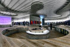 Denim R & D studio by Zemberek Design Office, Istanbul   Turkey showroom store design