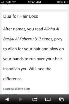 Dua For Hair Loss inspirational quotes Islam Hadith, Allah Islam, Islam Quran, Islam Beliefs, Alhamdulillah, Quran Quotes Inspirational, Beautiful Islamic Quotes, Hadith Quotes, Muslim Quotes