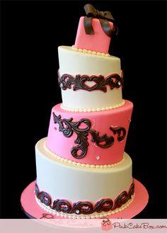 The Pink Cake Box Signature Cake! by Pink Cake Box