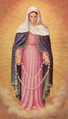 Maria met rozenkrans