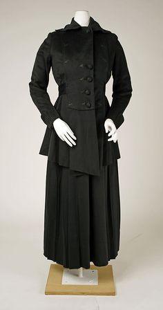 SuitSuit Date: ca. 1916 Culture: American Medium: silk
