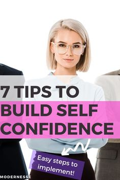 Use these tips go build self confidence and lead a happier life! Be the boss lady you want to be.  | how to build self confidence | self confidence building | self confidence challenge #buildselfconfidence #boostselfesteem Building Self Confidence, Self Confidence Tips, Confidence Coaching, Building Self Esteem, Positive Motivation, Positive Mindset, Business Motivation, Business Tips, How To Become Confident