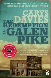 WIN The Redemption of Galen Pike by Carys Davies