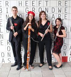 El cuarteto holandés Quatriola Ensemble se presenta en Corteza de Encina con la fagotista ponferradina Clara Alija