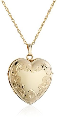 online shopping for Yellow Gold-Filled Engraved Four-Picture Heart Locket Necklace, 20 from top store. See new offer for Yellow Gold-Filled Engraved Four-Picture Heart Locket Necklace, 20 Gold Heart Locket, Heart Locket Necklace, Pendant Necklace, Gold Pendant, Gold Rope Chains, Gold Filled Chain, Gold Jewelry, Jewelry Necklaces, Jewellery