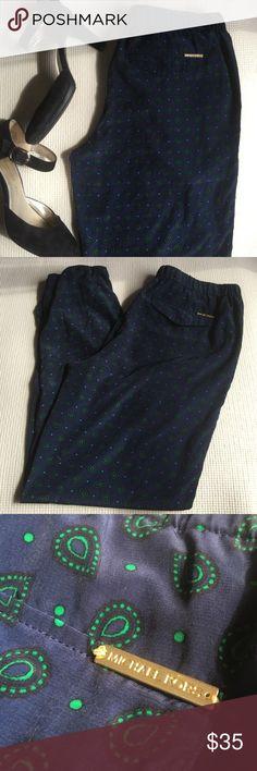 Michael Kors Joggers Michael Kors Pants. Size 8. 100% Polyester. Great print. No rips or stains Michael Kors Pants Straight Leg