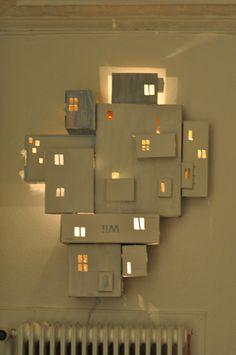 Lighting Floating City |Refurbished Ideas