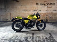 Cleveland CycleWerks - 2015 Misfit Cafe Racer