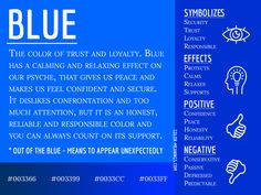 Blue Color Meaning - The Color Blue Symbolizes Trust and Loyalty Blue Color Meaning, Aura Colors Meaning, Color Blue, Blue Color Quotes, Favorite Color Meaning, Blue Candle Meaning, Color Symbolism, Trust And Loyalty, Colors And Emotions