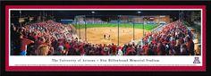 Arizona Wildcats Panoramic - Rita Hillenbrand Memorial Stadium