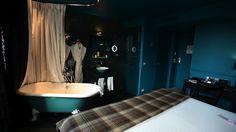 #hotes Chambre et baignoire deviennent complémentaires chez Stella Cadente