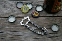 Recycled Bicycle Cassette Bottle Opener by JaredKramerStudios, $20.00