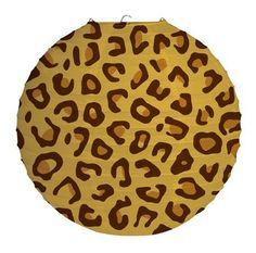 Party Time Celebrations  - Leopard Print Party Lantern, $10.95 (http://www.partytimecelebrations.com.au/leopard-print-party-lantern/)