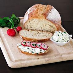 Home made Polish farmer's cheese... delicious.
