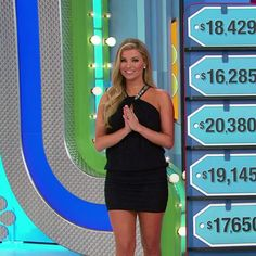 Amber Lancaster - The Price Is Right (2/11/2016) ♥