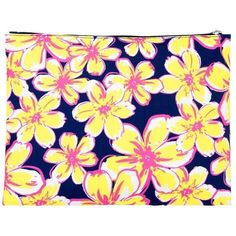 Fashion Print Zippered PouchCan be PERSONALIZED ($15) ❤ liked on Polyvore featuring bags, handbags, clutches, yellow handbags, zipper pouch, beach tote bags, zipper purse and pouch purse