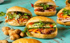 Take a bite out of summer's hottest sandwich, the Vietnamese banh mi, loaded with pork, fragrant herbs and crunchy vegetables