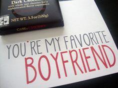 You're my fav boyfriend valentine printable :)