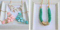 Statement Necklaces-Best Price!!   SELLER PROFILE  La'Lour Couture  www.etsy.com/shop/LaLourCouture jane.com
