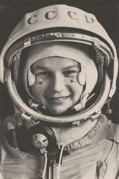 First Woman in Space, Valentina Tereshkova, 1963