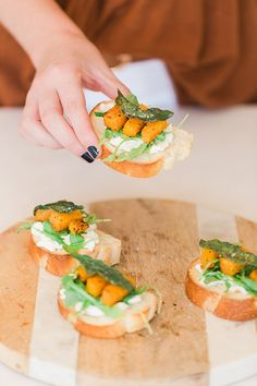 The tastiest fall crostini