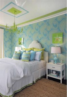 Casual Contemporary Bedroom for a teen girl by Diane Guariglia