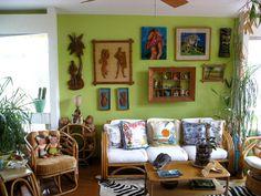 Tiki Style: Jennifer's South Austin Home : 103108jenniferperkins : Apartment Therapy