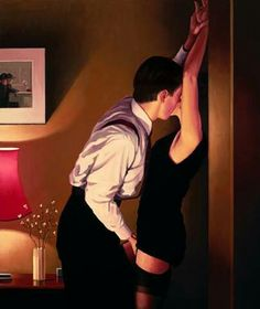Jack Vettriano 'Game On'