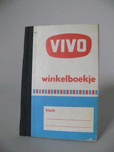 VIVO winkelboekje alles werd opgeschreven en eind van de week of maand werd afgerekend.