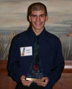 Special Olympics Missouri Outstanding Athlete Matthew Cepeda, Kansas City