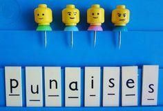 8 new uses for Christmas Legos - Lego push pins