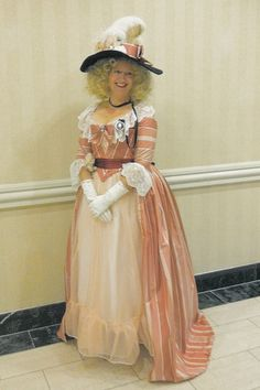 The Costumer's Closet: 18th c. candy gown