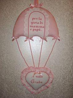 Fiocco paracadute con cuore