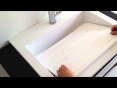 Il lavandino più utile e originale per il bagno è il lavatoio due in uno. Doppia profondità e design curato lo rendono una valida alternativa di design per l'arredobagno.