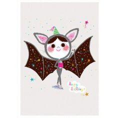 Marc Boutavant ansichtkaart happy birthday batgirl