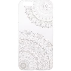 Monika Strigel Transparent Neptune Lace iPhone 6 Case ($35) ❤ liked on Polyvore featuring accessories, tech accessories, phone cases, phone, cases, iphone, apple iphone cases, iphone cover case, transparent iphone case and iphone cases