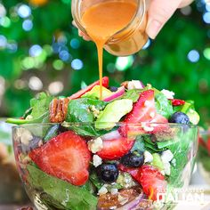 Best Ever Strawberry Spinach Salad (With Video)