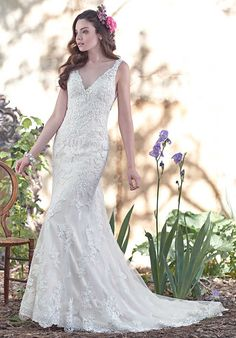 Maggie Sottero Geddes Sheath Wedding Dress