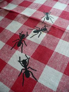 Picnic Time Napkins Set Of 4
