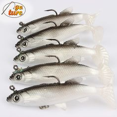 3D Eye, Weighted Softbait Fishing Lures