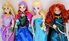 Disney Dolls 3D