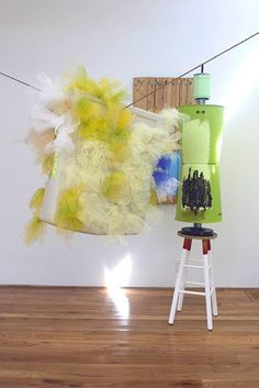 Jessica Stockholder - Artists - Mitchell-Innes & Nash Colour Field, Everyday Objects, Installation Art, Abstract Expressionism, Contemporary, Artists, Artist