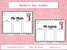 Classroom Freebies: Mother's Day Freebie